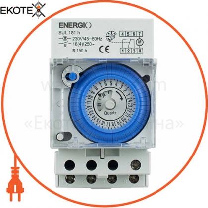 ENERGIO 70105 таймер energio sul181h суточный электромеханический
