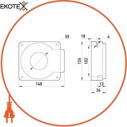 Enext i0640002 измерительная катушка e.trans.cur.kct.55s для реле типа klr, 400/3