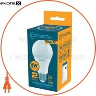 Лампа Crystal Gold светодиодная A60  8W PA Е27 3K