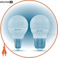 Лампа Crystal Gold светодиодная G45  4W PA Е27 3K