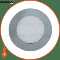 Светодиодный светильник Feron AL500 3W серебро 27944