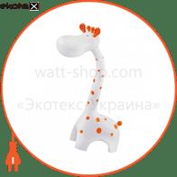Настольная лампа LED 6W 3000-6000K 350Lm 100-240V жираф белый