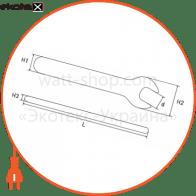 p0470017 Enext изолированный инструмент ключ ізольований ріжковий e.insulating.open.wrench.40113, 13мм