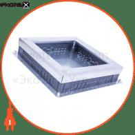 коробка adk-m 373х373х77 мм під люк для підпідлогового кабель-каналу h 30-40 мм товщ 2 мм