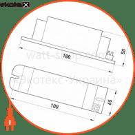 електромагнітний баласт e.ballast.hps.250, для натрієвих ламп 250 вт