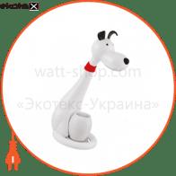 Настольная лампа LED 6W 3000-6000K 350Lm 100-240V собака белый