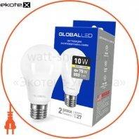 Лампа світлодіодна A60 10W 3000K 220V E27 AL