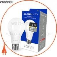Лампа світлодіодна A60 12W 3000K 220V E27 AL