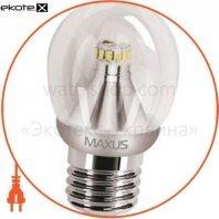 LED лампа 4W яркий свет G45 Е27 220V (1-LED-264)