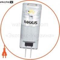 Лампа G4 1W 3000K 12V AC / DC CR