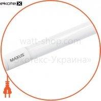 Лампа светодиодная Т8, 600мм, 8Вт, 900лм, 6000К, Ra> 80, пластик, G13