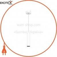 Підвіс Maxus 6W тепле світло, 180MM круглий білий (1-FPL-001-01-C-WH)
