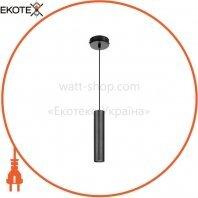 Підвіс Maxus 6W яскраве світло,180MM круглий чорний (1-FPL-004-01-C-BK)