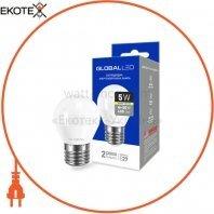 Лампа светодиодная G45 F 5W 3000K 220V E27 AP