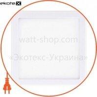 Светильник светодиодный GLOBAL SP adjustable 9W, 4100K (square)