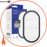 LED светильник GLOBAL HPL 12W 5000K E  (1-HPL-004-E)
