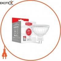Лампа світлодіодна MR16 3W 4100K 220V GU5.3