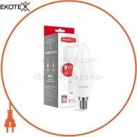 LED лампа MAXUS C37 CL-F 8W яркий свет E14 (1-LED-5318)