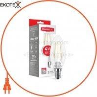 Лампа світлодіодна C37 FM-C 4W 4100K 220V E14