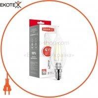 Лампа світлодіодна C37 FM-T 4W 3000K 220V E14