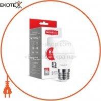 LED лампа MAXUS G45 6W яркий свет E27 (1-LED-542)