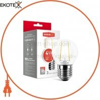 Лампа светодиодная G45 FM 4W 3000K 220V E27