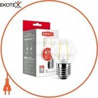Лампа светодиодная G45 FM 4W 4100K 220V E27
