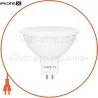 Лампа світлодіодна MAXUS 1-LED-712 MR16 5W 4100K 220V GU5.3