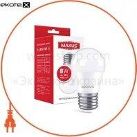 Лампа світлодіодна G45 8W 3000K 220V E27