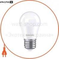Лампа світлодіодна G45 8W 4100K 220V E27
