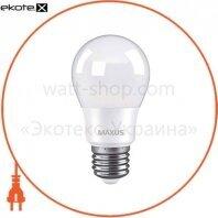Лампа світлодіодна MAXUS 1-LED-774 A55 8W 4100K 220V E27