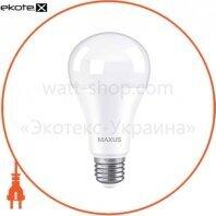 Лампа светодиодная MAXUS 1-LED-782 A70 15W 4100K 220V E27