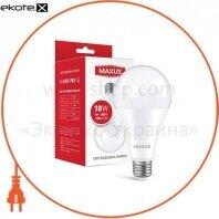 Лампа світлодіодна MAXUS 1-LED-783 A80 18W 3000K 220V E27