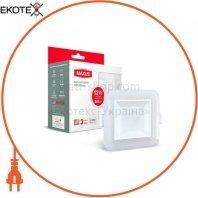 Світильник світлодіодний 3-step SDL MAXUS 12W 3000/4100K квадрат