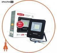 Світильник світлодіодний LED FLOOD LIGHT MAXUS 30W, 5000K