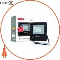Світильник світлодіодний LED FLOOD LIGHT MAXUS 50W, 5000K