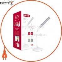 Настільна лампа MAXUS DKL 8W 3000-5700K WH Transformer