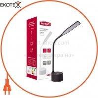 Настольная лампа MAXUS DKL 8W 3000-5700K BK Sound