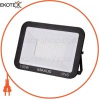 Прожектор MAXUS FL-01 100W, 5000K