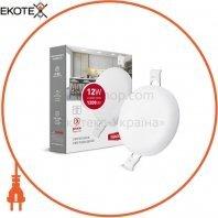 Світильник світлодіодний MAXUS SP edge 12W, 4100К (коло)