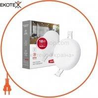 Світильник світлодіодний MAXUS SP edge 18W, 4100К (коло)