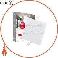 Светильник врезной MAXUS SP edge 36W, 4100К (квадрат)