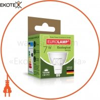"EUROLAMP LED Лампа ЭКО серия ""P"" SMD MR16 7W GU5.3 3000K"