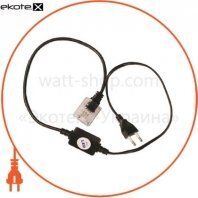 Акс.светодиод.провод DELUX 3-полюсн. акс. LED вилка+кабель