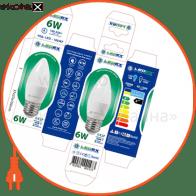 100147 Ledex светодиодные лампы ledex led лампа ledex c37-6w-e27-570lm-4000к-(lx-100147)
