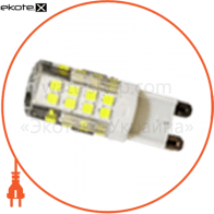 LED лампа LEDEX G9 (5W CERAMIC, AC 220V, 4000K) чип: Epistar