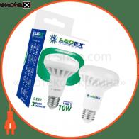 LED лампа LEDEX 10W, E27, R80 950lm, 4000К, 120º, чип: Epistar (Тайвань)
