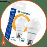 LED лампа LEDEX 12W, E27, 1140lm, 3000К, 270º, чип: Epistar (Тайвань)