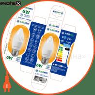 led лампа ledex c37-6w-e27-570lm-3000к-(lx-100866)