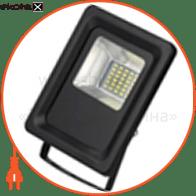 светодиодный прожектор ledex 20w slim, 1800lm, 6500к холодный белый, 180º, ip65